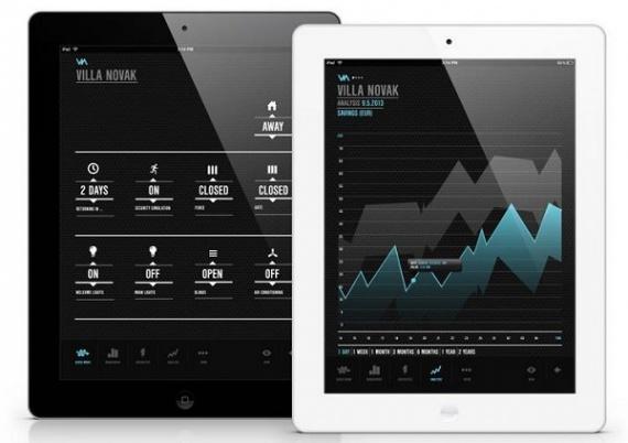 VIA ‒ iPad приложение для контроля всего дома