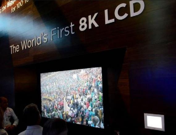 3D-телевизор формата 8K