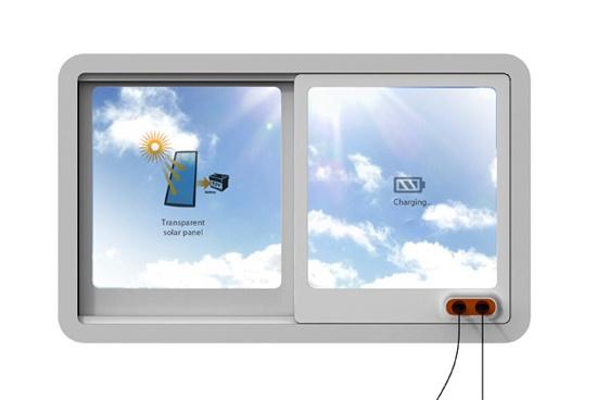 прозрачные солнечные батареи для окон