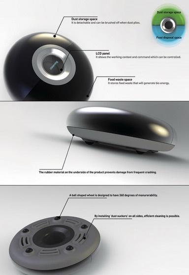Bio Clean робот-пылесос