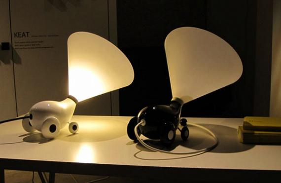 Light Boy Lamp: светильник-зверушка