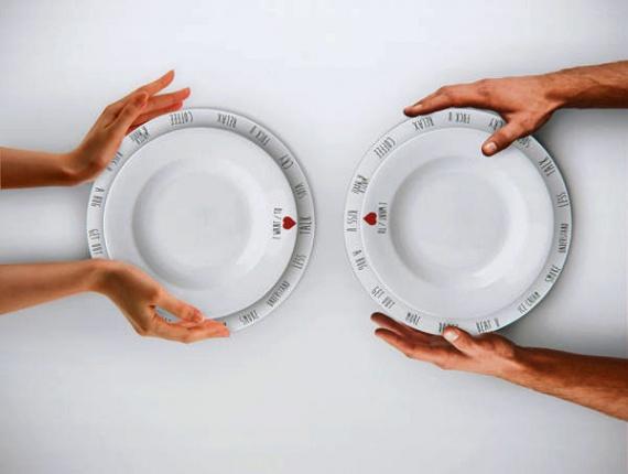 тарелки для разговоров за столом