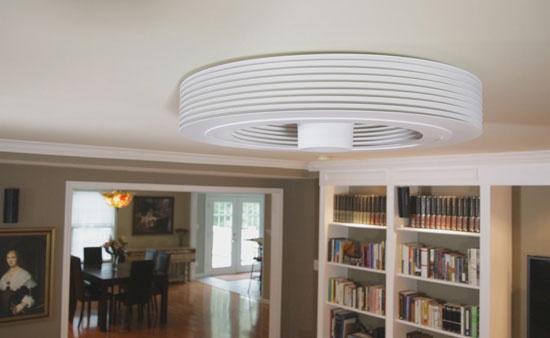 Безлопастный потолочный вентилятор