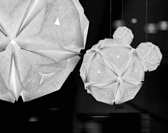Светильник-конструктор оригами