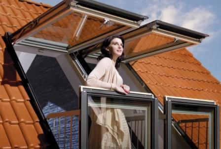 окна-балконы Fakro