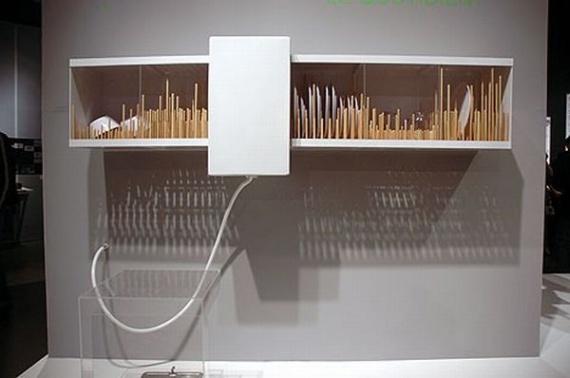 Настенная посудомоечная машина Mural Dishwasher