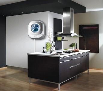 Настенная стиральная машина Daewoo Electronics DWD-CV701PC