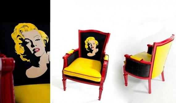 ретро-кресла