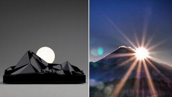 Ночник восходящего солнца от Сатоси Итасака
