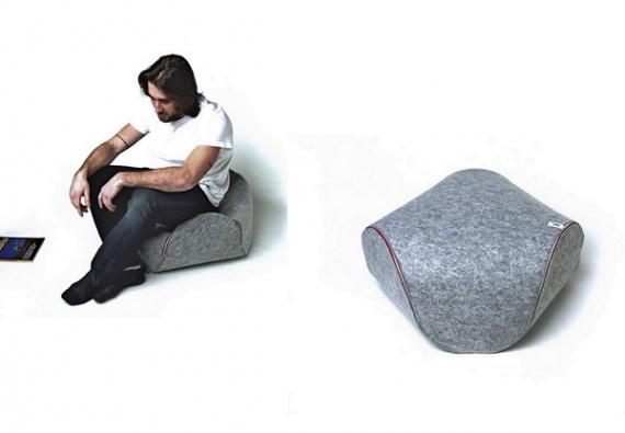 мягкая мебель Ufo от Luca Cozzi